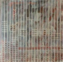 90 x 90 - Orita, Oleo y polvo de mármol - lienzo