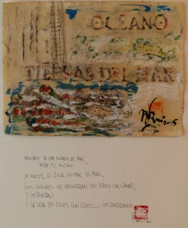 45 x 55 Cartón, Orita y Tinta china - papel 640gr