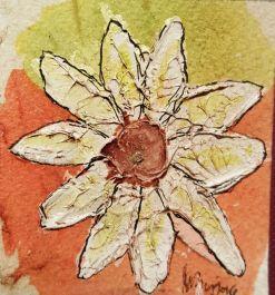 Orita y tinta china - cartón