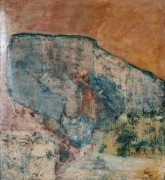 81 x 90 - Oleo y tinta - lienzo